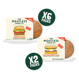 Meatless BBQ Party Bundle - 8 Packs (6x Burgers, 2x Sausages)