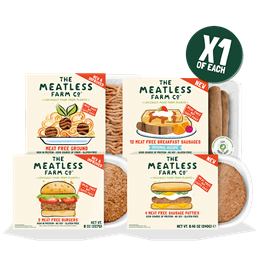 Meatless Explore Bundle - 4 Packs (1 of Each)