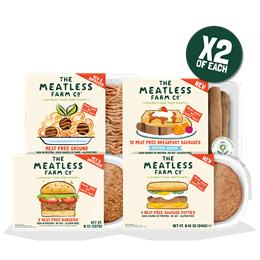 Mega Meatless Explore Bundle - 8 Packs (2 of Each)