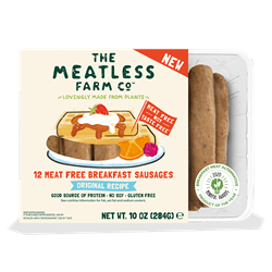 The Meatless Farm 12 Meat Free Breakfast Sausage Links, 10oz