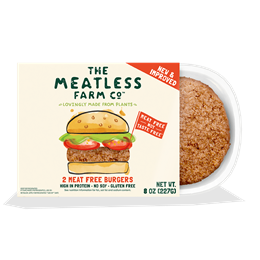 The Meatless Farm 2 Meat Free Burgers, 8oz
