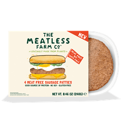 The Meatless Farm 4 Meat Free Sausage Patties, 8.46 oz